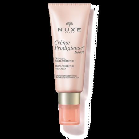 Nuxe Crème Prodigieuse® Boost Crème gel multi-correction Peaux Normales à mixtes. Tube pompe 40ML