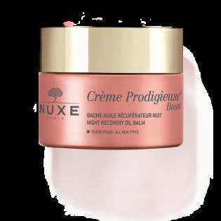 Nuxe Crème prodigieuse Nuit - Soin hydratant défatiguant Tous types de peaux. Pot de 50ML
