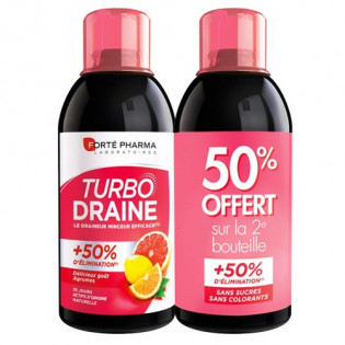 FORTE PHARMA TURBO DRAINE LOT DE 2 X 500ML GOUT AGRUMES