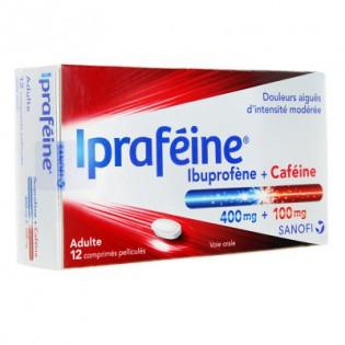 IPRAFEINE 12 COMPRIMES PELLICULES