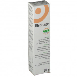 BLEPHAGEL GEL STERIL 30G