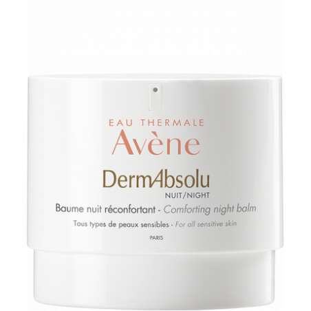 Avène Dermabsolu Baume nuit réconfortant. Pot airless 40 ml