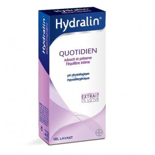 Hydralin Apaisa Soin intime quotidien Solution au Lotus. Flacon 400ML