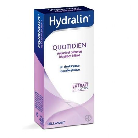 Hydralin Apaisa Soin intime quotidien Solution au Lotus. Flacon 400ML