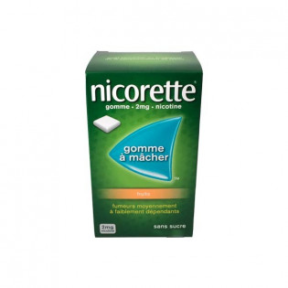 NICORETTE 4MG CLASSIQUE SANS SUCRE 105 GOMMES