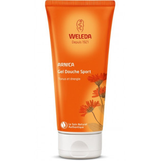 WELEDA DUO Gel Douche Sport à l'Arnica. Tube 2x200ml