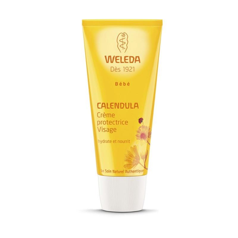 WELEDA Crème protectrice Visage au Calendula. Tube 75ml