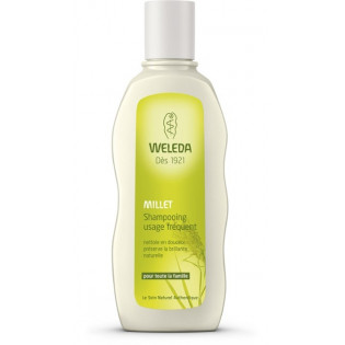 WELEDA Millet Shampooing usage fréquent. Flacon 190ml