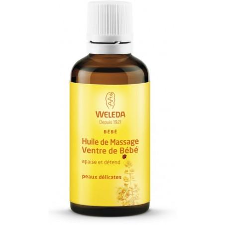 WELEDA BEBE Huile de Massage Ventre. Flacon 50ml