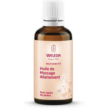 WELEDA MATERNITE Huile de Massage Allaitement. Flacon 50ml