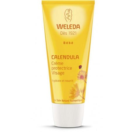 WELEDA BEBE CALENDULA Crème protectrice Visage. Tube 50ml
