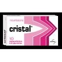 CRISTAL NOURRISSONS 10 SUPPOSITOIRES A LA GLYCERINE