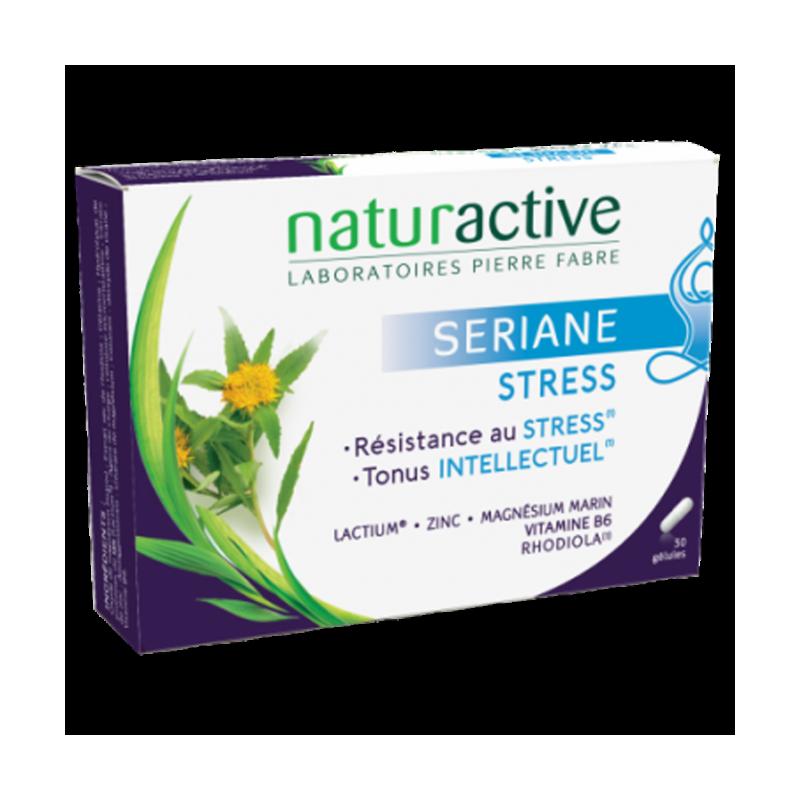 Naturactive Sériane Stress. Boite 30 gélules