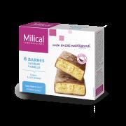 Milical 6 Barres protéinées saveur vanille