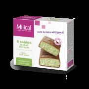 Milical 6 Barres protéinées saveur pistache