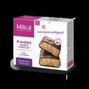 Milical 6 Barres protéinées saveur chocolat