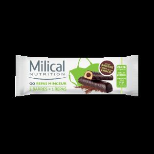 MILICAL GO REPAS MINCEUR GOUT AMANDE COEUR CHOCO