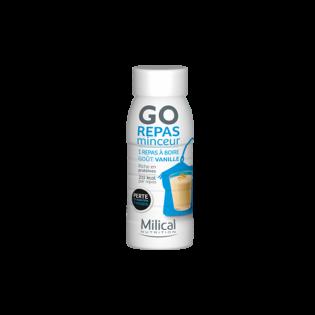 MILICAL GO REPAS MINCEUR Milk-Shake saveur vanille 236ml