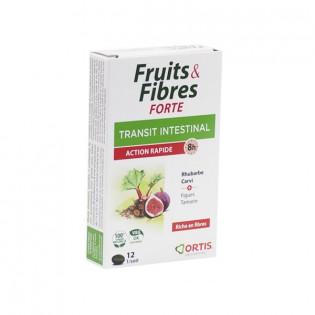 FRUITS&FIBRES FORTE ACTION RAPIDE 12 COMPRIMES