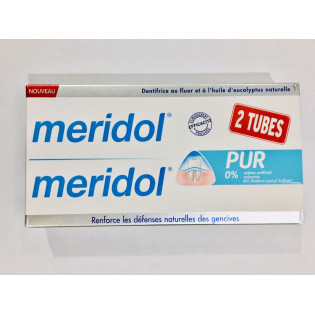 MERIDOL DENTIFRICE PUR 2 TUBES DE 75ML