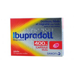 IBUPRADOLL 400MG SANOFI BOITE DE 12 COMPRIMES PELLICULES