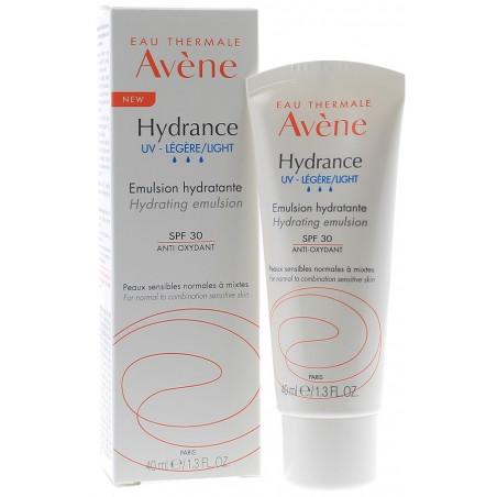 NOUVEAU Avène Hydrance UV-Légère Emulsion hydratante SPF30. Tube 40ml
