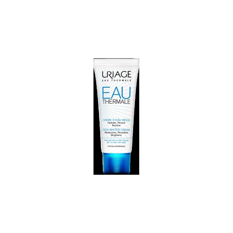 URIAGE EAU THERMALE - Crème d'Eau. Tube 40ml