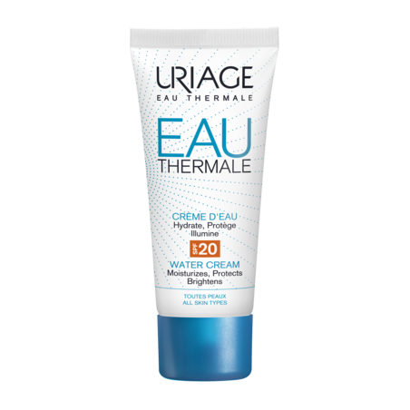 URIAGE EAU THERMALE - Crème d'Eau Légère SPF20. Tube 40ml