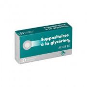 50 SUPPOSITOIRES A LA GLYCERINE ADULTES GILBERT