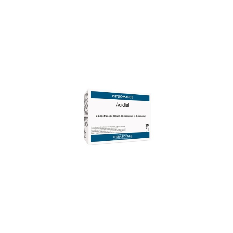 Physiomance Acidial boîte de 20 sachets