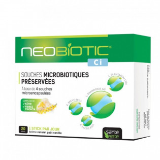 NEOBIOTIC CI 20 STICKS GOUT VANILLE