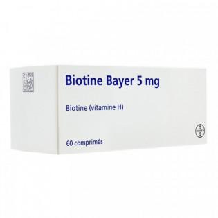 BIOTINE 5MG BOITE D E60 COMPRIMES