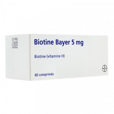 BIOTINE 5MG BOITE DE 60 COMPRIMES