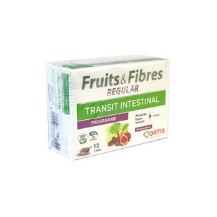 FRUITS&FIBRES REGULAR 12 CUBES