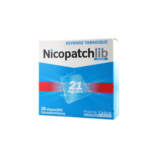 Nicopatch Dispositifs 21mg/24h par 28