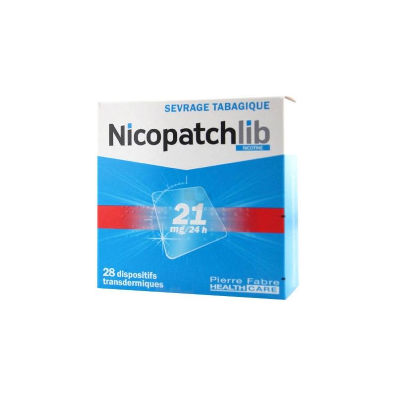 Nicopatch Dispositifs 21mg/24h par 28