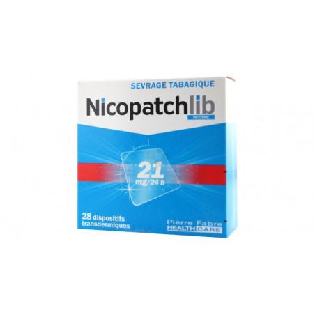 Nicopatchlib Dispositifs 21mg/24h par 28