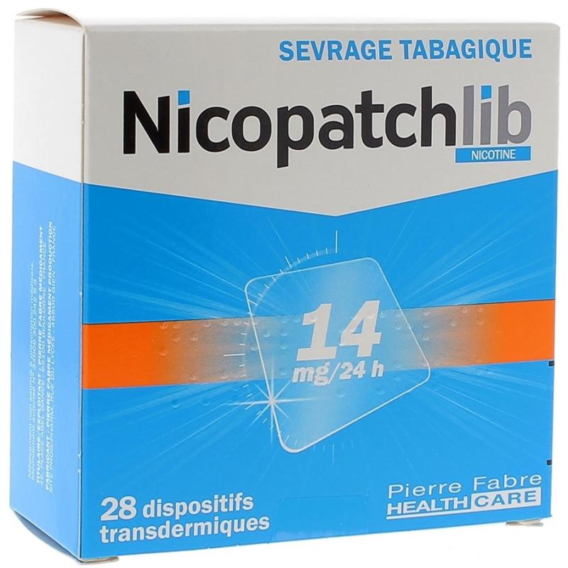 Nicopatch Dispositifs 14mg/24h par 28