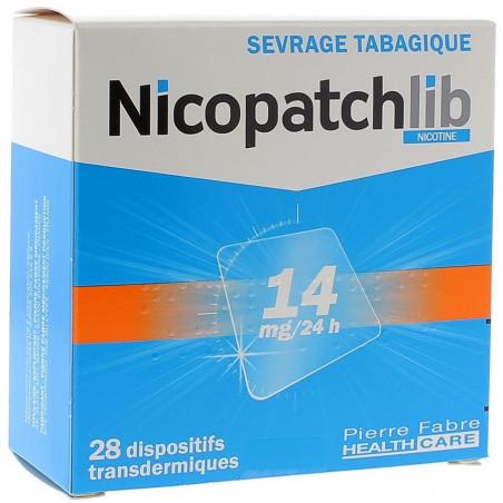 Nicopatchlib Dispositifs 14mg/24h par 28