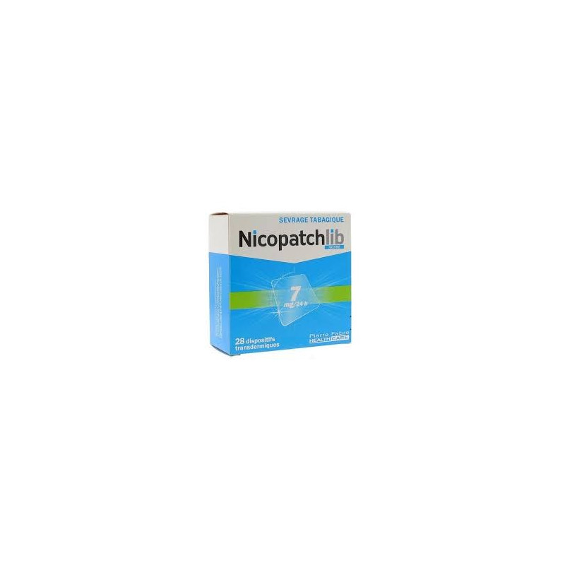 Nicopatch Dispositifs 7mg/24h par 28