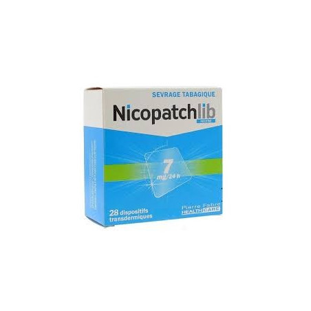 Nicopatchlib Dispositifs 7mg/24h par 28