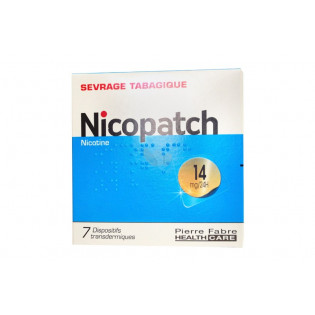 Nicopatch Dispositifs 14mg/24h par 7