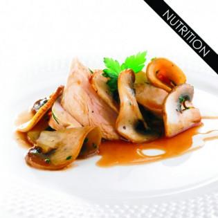 KOT PLAT Aiguillettes de poulet et champignons à la crème 270 g