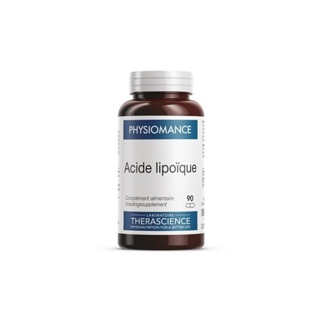 therascience physiomance acide lipoique boite de 90 gelules