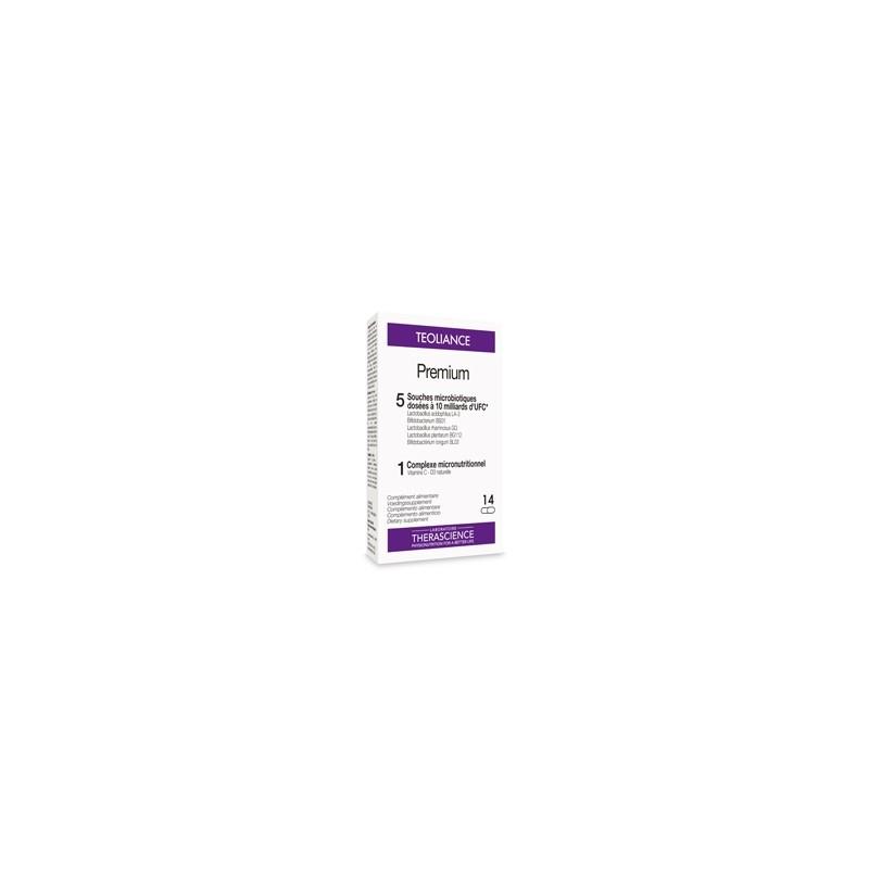 THERASCIENCE Teoliance premium (ex-Lactique) boîte de 14 gélules