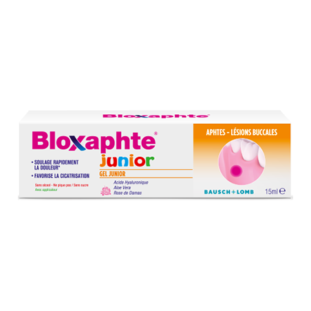 Chauvin Bausch & Lomb BloXaphte Gel Junior. Tube 15ML