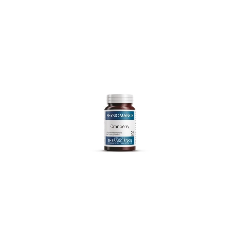 THERASCIENCE PHYSIOMANCE CRANBERRY 30 GELULES