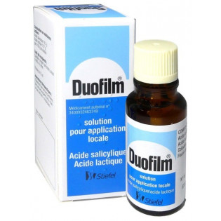 DUOFILM SOLUTION FLACON 15ML
