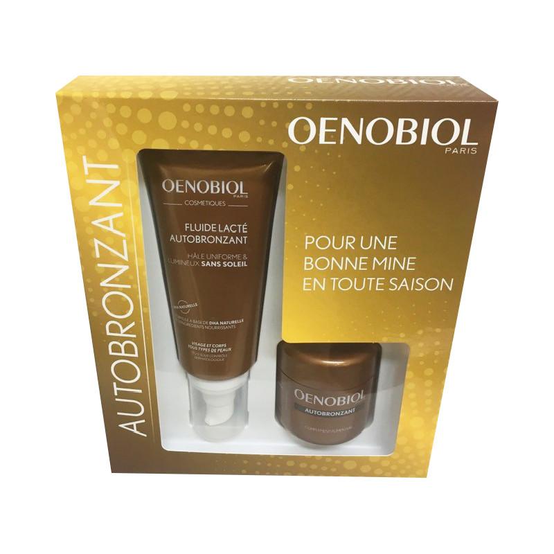 Oenobiol Autobronzant Coffret Fluide Lacté + 30 capsules