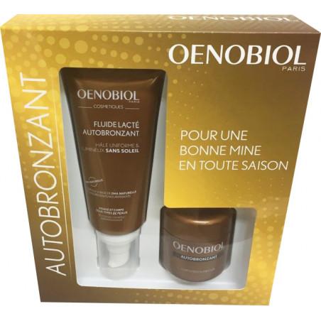 Oenobiol Autobronzant Coffret Fluide Lacté 100ml + 30 capsules